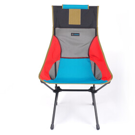 Helinox Sunset Chair, multi block/black